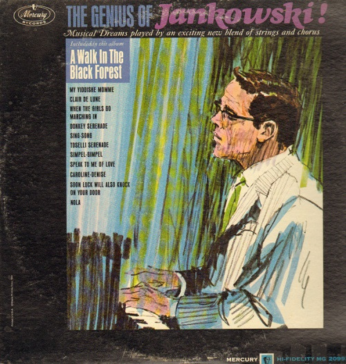 The Genius of Jankowski easy listening style record by Horst Jankowski
