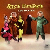 Space Escapade an easy listening Space Age style record by Les Baxter